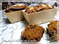 pain d'épice sans gluten au potimarron