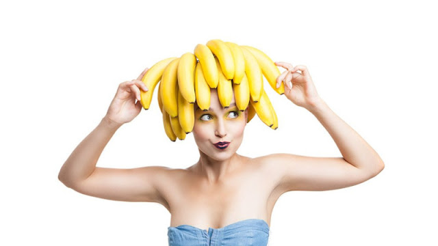 Manfaat Pisang untuk masker rambut