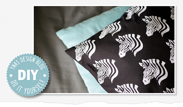 Ynas Design Blog, Zebra Printing on fabric, DIY