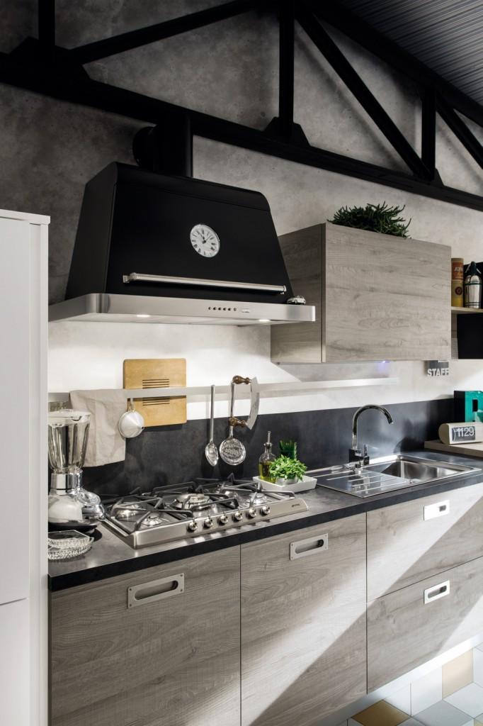 Top Una cucina stile industriale dal sapore retrò - BLOG ARREDAMENTO IC16