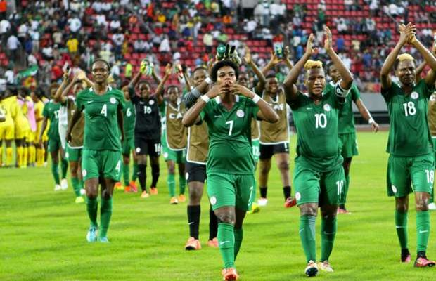 Nigeria now 34th in FIFA Women's World Rankings