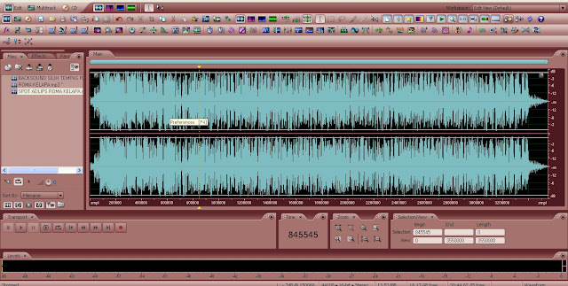 Tutorial adobe audition – Cara merubah tampilan warna layout