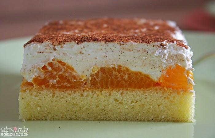 Adore2bake Mandarinenkuchen Mit Zimtsahne