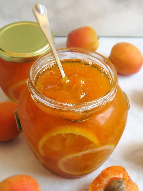 Apricot lemon conserve | tinavesic.com