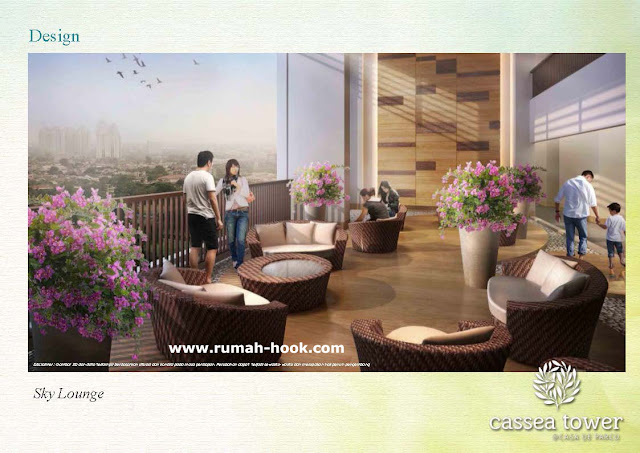 Faslitas Umum Apartemen Baru di BSD City Casa de Parco www.rumah-hook.com