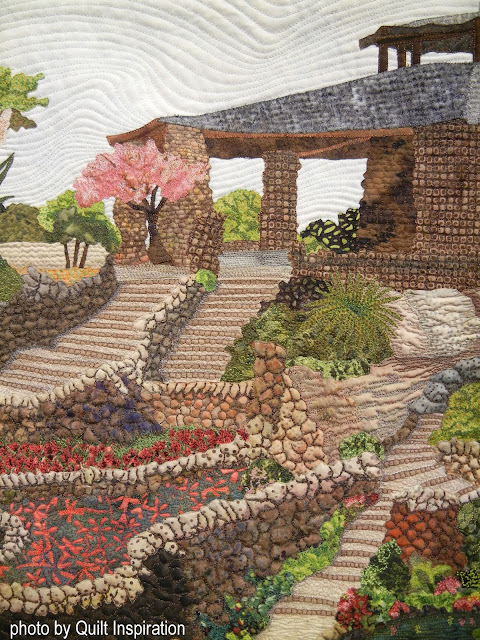 Quilt Inspiration Tiny Houses and Miniature Landscape Quilts