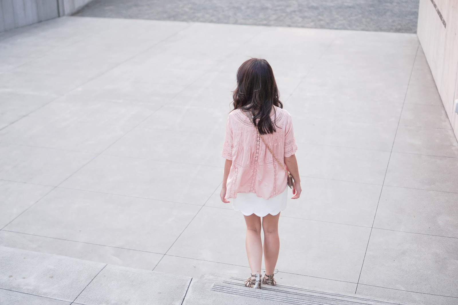 828bcc8cd Balancing Act: Amuse Society Clover Top w/ Topshop Scallop Miniskirt ...