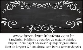 Etiquetas de Estilo Pizarra para imprimir gratis.