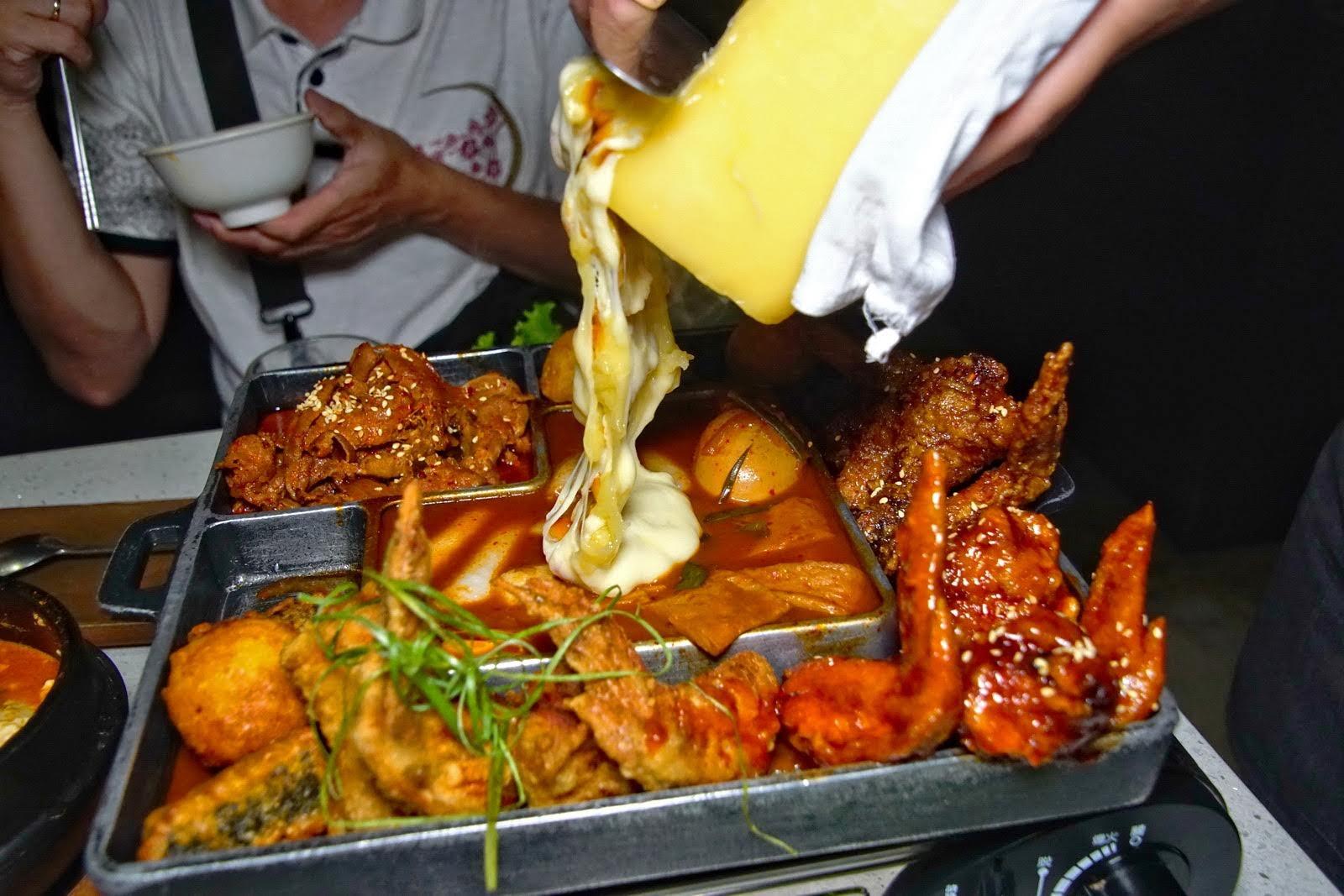 [台南][中西區] 哈摩尼韓食堂-台南店|迷宮拼盤、彩虹春雞|食記