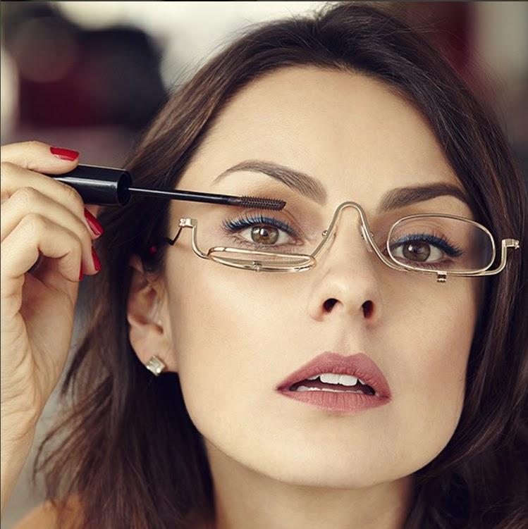 d8c73b510c18a Papo de Mulher  Óculos para maquiagem - Quem disse