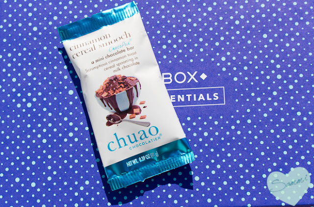 Chuao Chocolatier Cinnamon Cereal Smooch - Birchbox: December 2015 Review Winter Essentials Unboxing and Review