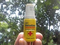 manfaat betadine antiseptic obat luka wound care
