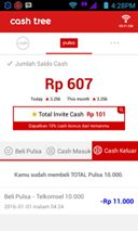Cashtree Cari recehan Buat Beli Pulsa - CASHTREE merupakan sebuah aplikasi android yang memberikan cash bagi pengguna yang menikmati konten - konten dari aplikasi tersebut