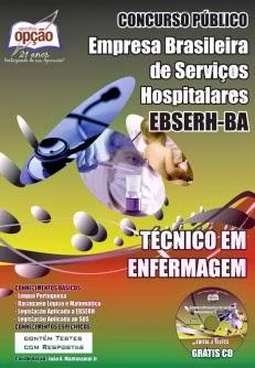 Apostila EBSERH BA - Técnico em Enfermagem