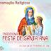 Programação Religiosa da Festa de Santa Ana 2016.