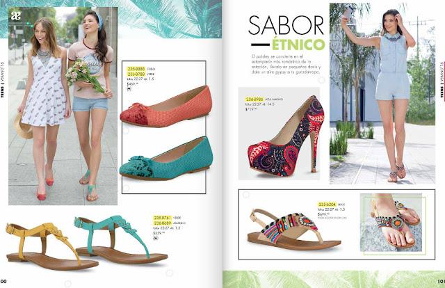 sandalias de moda estilo etnico