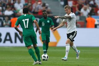 مجموعة مصر.. منتخب السعودية يخسر أمام ألمانيا 2-1