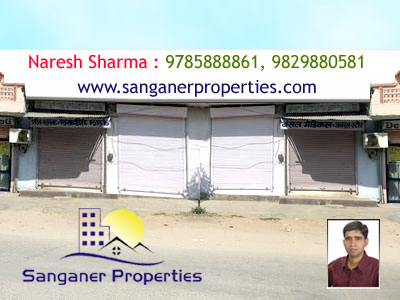Commercial Shop For Sale Near Mansarovar In Sanganer