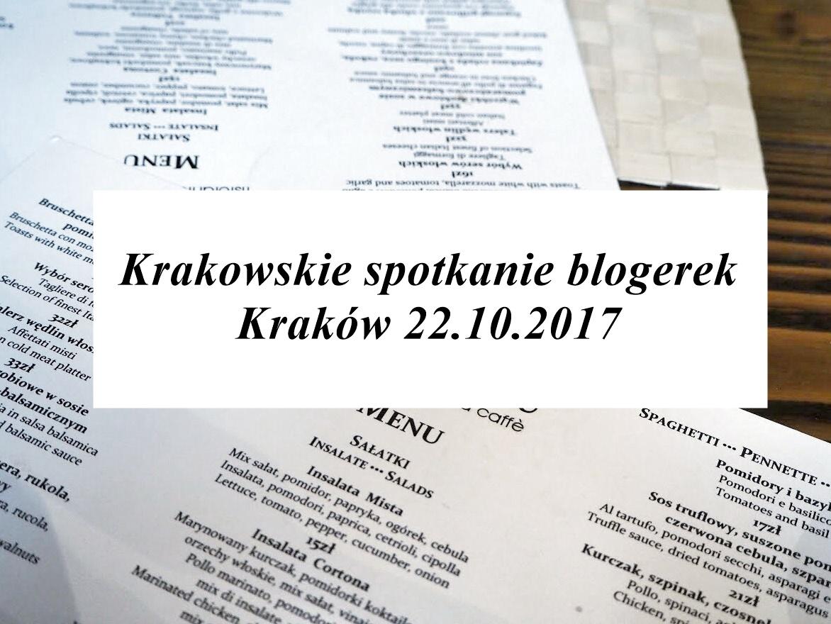Krakowskie spotkanie blogerek