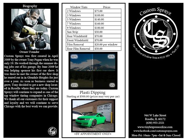 Logo Package For Custom Sprayz Custom Car Shop Project Pantelis