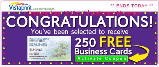 Vistaprint coupon free flyers