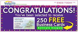 free Vistaprint coupons for december 2016