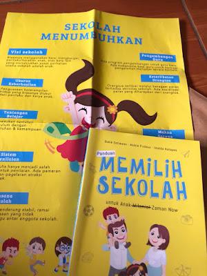 Poster Panduan Memilih Sekolah
