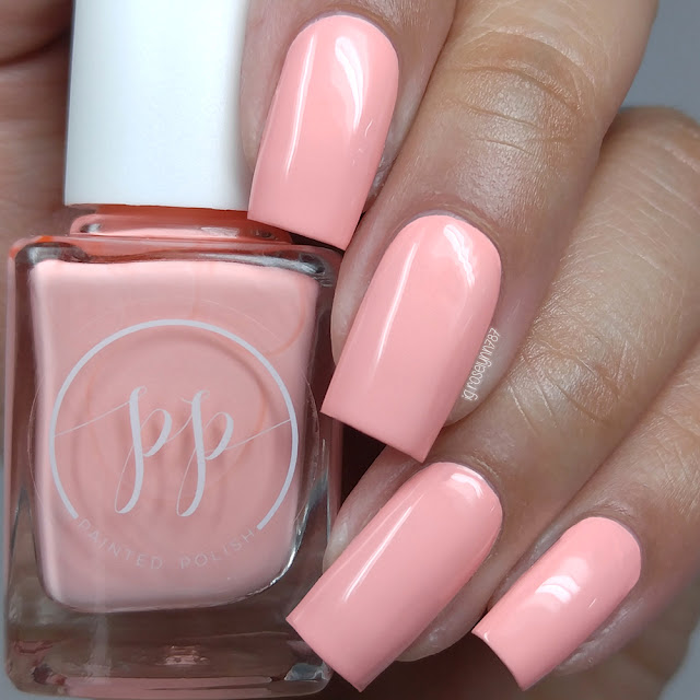 Painted Polish - Stamped in Guava