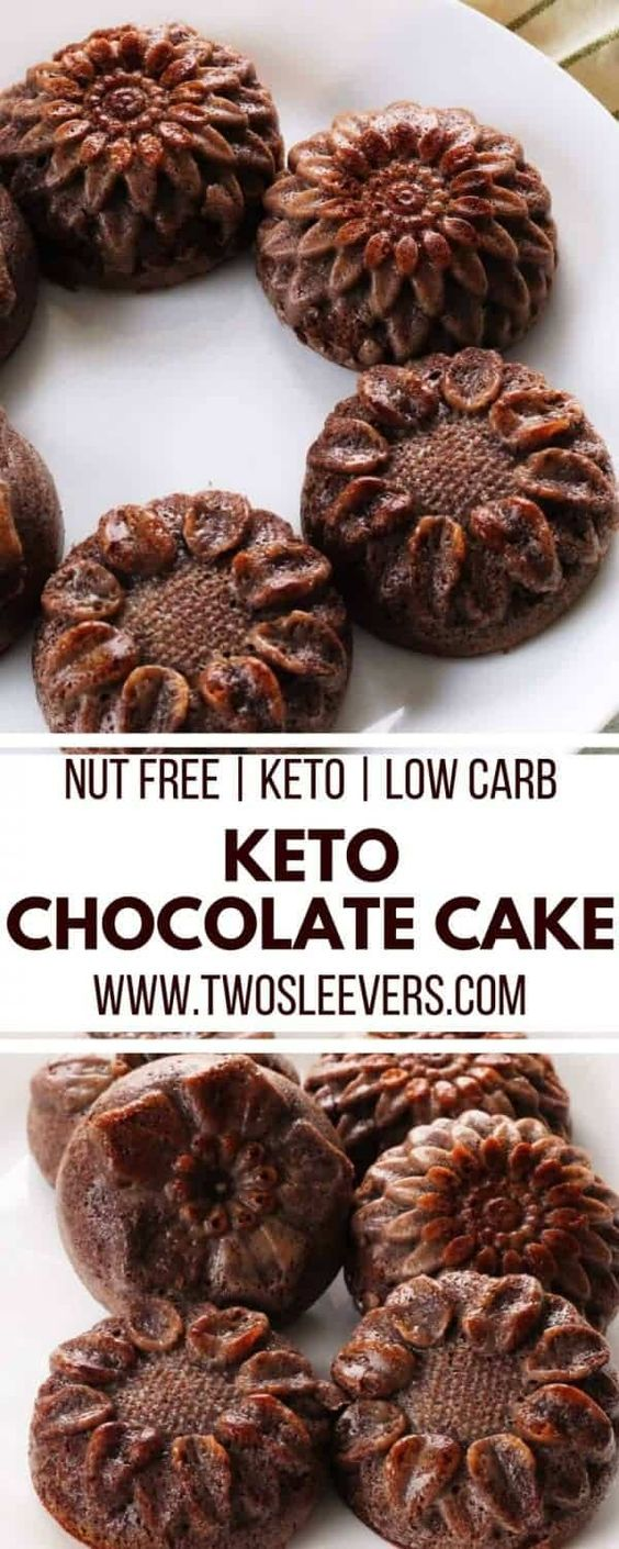 Gluten-Free Nut-Free Keto Chocolate Cake