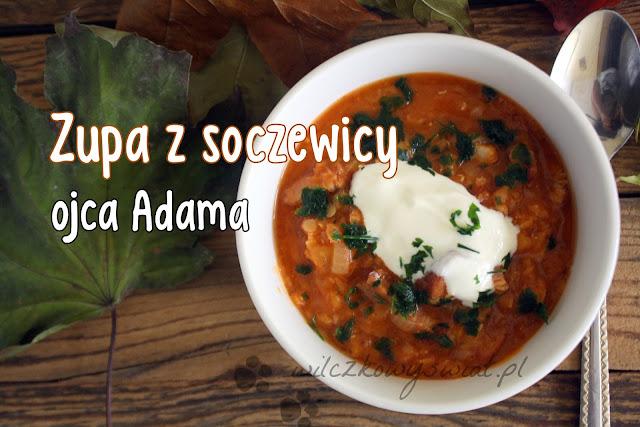 Zupa z soczewicy ojca Adama
