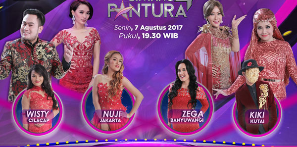 Nuji Peserta Bintang Pantura 4 Tadi Malam 7 Agustus 2017