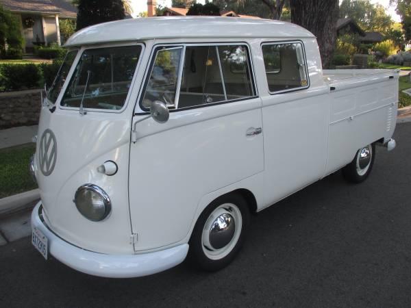 1961 Volkswagen Double Cab Truck