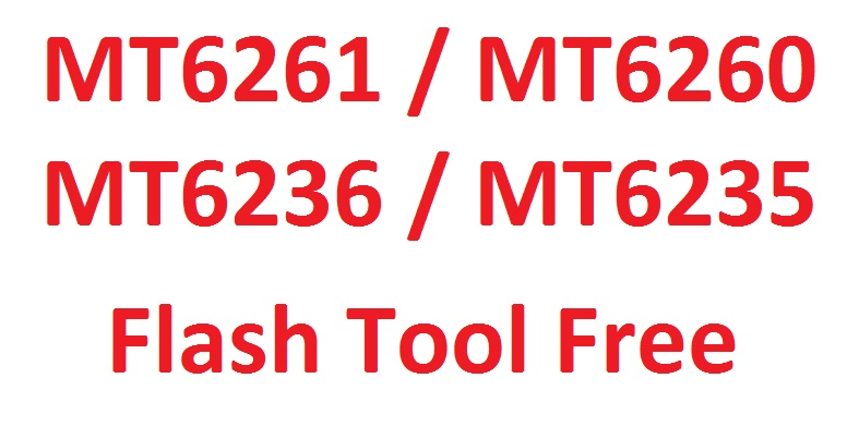 Mt6260 Flash Tool