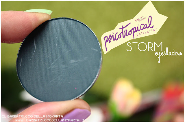 eyeshadow ombretti STORM psicotropical collection neve cosmetics