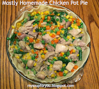 Mostly Homemade Chicken Pot Pie