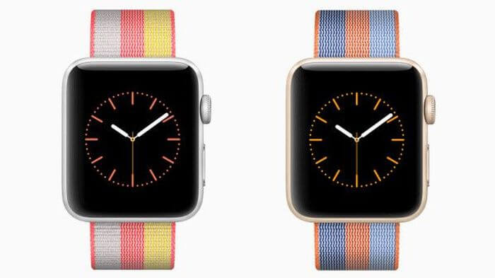Apple Watch: Color-fiery bracelet collection presented