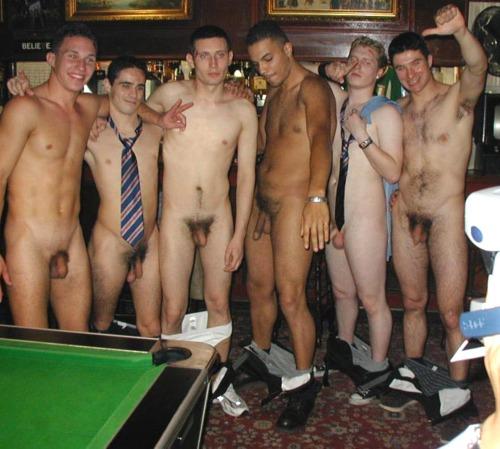 Straight men bonding with gay derek gently