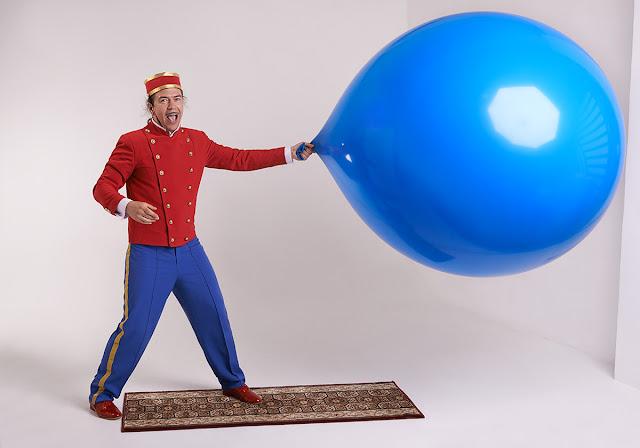 человек шар