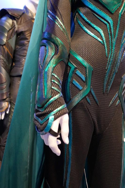 Hela costume wrist detail