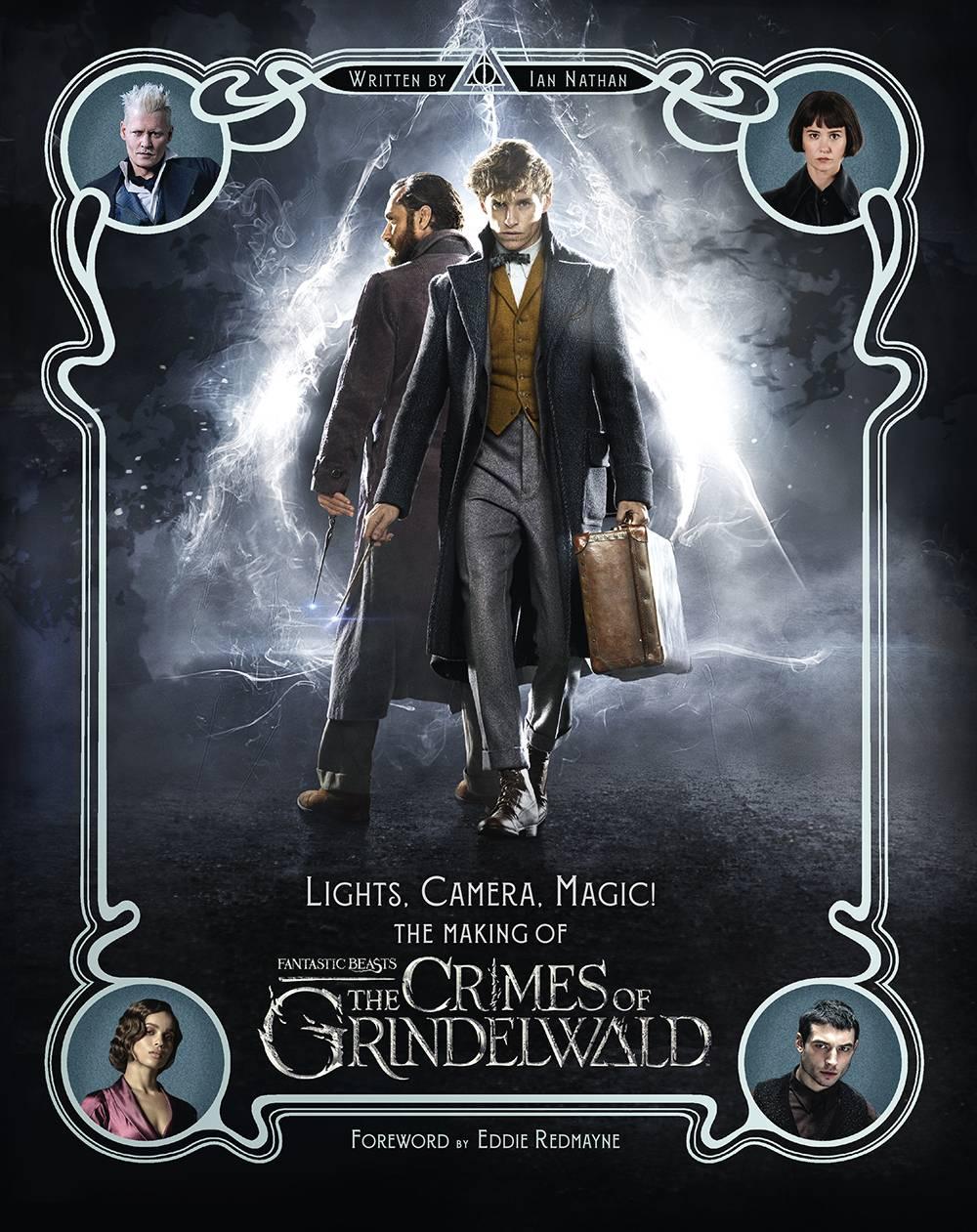 Novas Imagens De Os Crimes De Grindelwald Nos Livros E Produtos