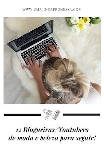 blogueiras e youtubers moda e e beleza