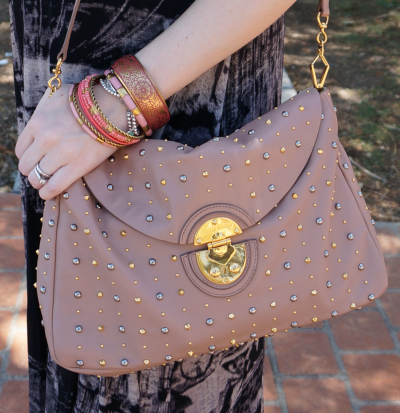 miu miu cammeo studded bag