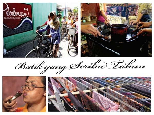 Potret Kawasan Perkampungan Batik Pesindon, Pekalongan