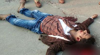 पुलिस की पार्टी में शूटर्स ने की ताबड़तोड़ फायरिंग, युवक की हत्या ,