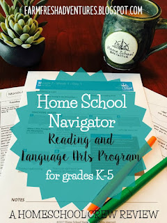 Home School Navigator~Reading and Language Arts Program ~a review