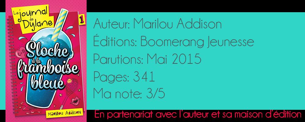 Catcritick Le Journal De Dylane Sloche A La Framboise