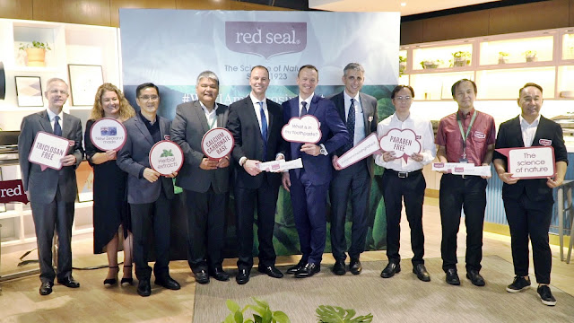 Red Seal All Natural Toothpaste Launch in Malaysia