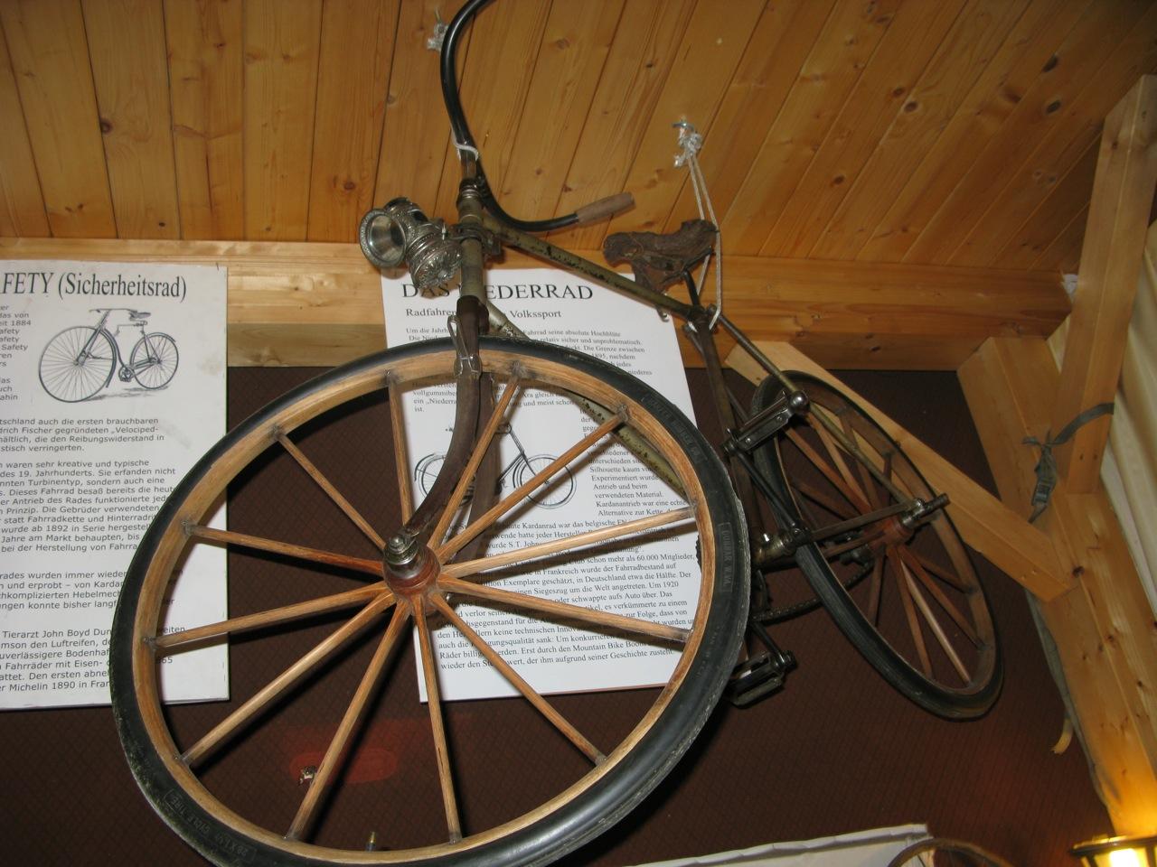 Bicycle museum Altmünster, Upper Austria – Fahrrad Salon