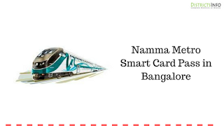 Namma Metro Smart Card Pass in Bangalore