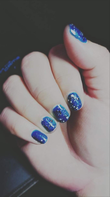 Stars nails :)